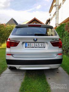 BMW X3 2.0 D XDrive 2013. godište
