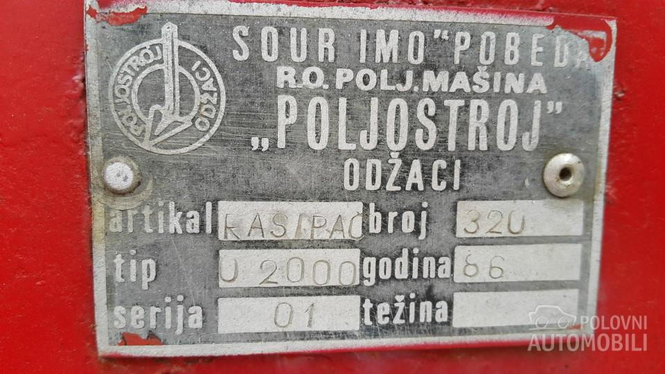 RASIPAČ ORKAN 2000