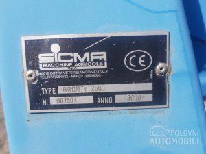 plug sicma bronty 2500